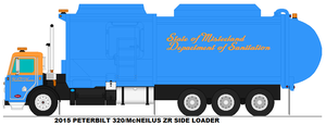 SoMDoS McNeilus ZR side loader by MisterPSYCHOPATH3001