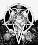 baphomet by youngwhitedragon