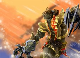 Orcs on War - Lineage II by fear-sAs