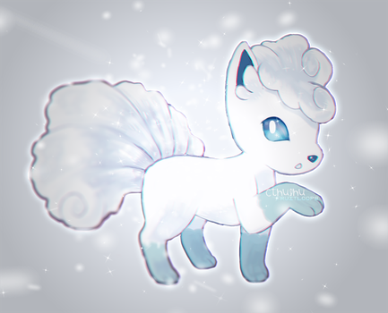 Alola Form VULPIX -SHIRT AVAILABLE- by CthulhuFruitLoops