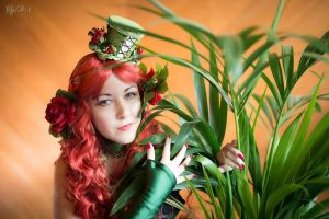 Steampunk Poison Ivy by dani-foca