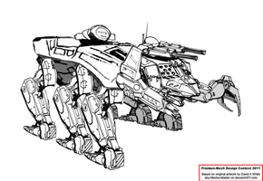 Karkinos Assault Mech by Excalibur-T005