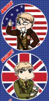 APH: Allies Bookmark by likethevirtue