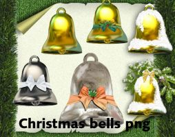 Christmas bells png by roula33