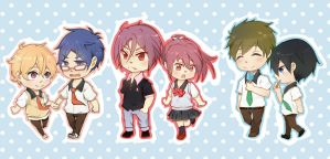 Free! stickers by Heikky