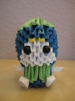 3D Origami - Blueberry Boy - 1 by Mixowelle