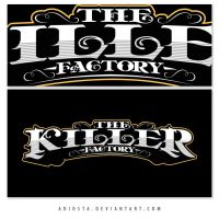 The Killer Factory Logotypes 5 by adiosta