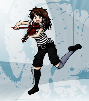 Lindsey Stirling by PuccaNoodles2009