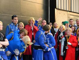 Roy and Riza - Anime Central 2013 by EndOfGreatness