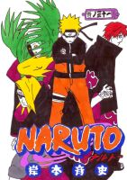 naruto manga cover thirty one by frecklesmile
