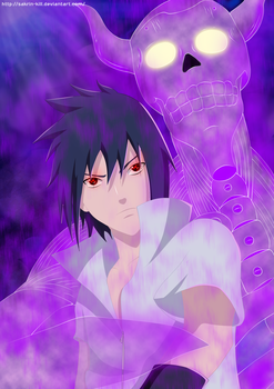 Uchiha Sasuke (Fan Art) by SaKrin-kill