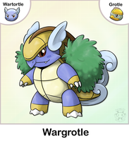 Wartortle + Grotle Fusion