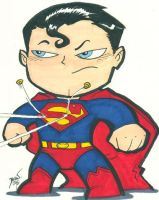 Chibi-Superman 3. by hedbonstudios