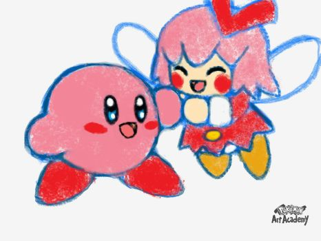 Kirby and Ribbon by Loveponies89