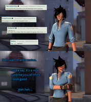 SFM - Rhona reacts to stuffthings by Stormbadger
