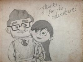 Thanks for the adventure... by Sindorman