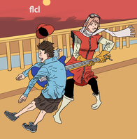 Flcl by tonyfony