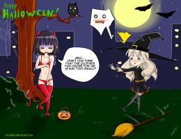 happy halloween! by coldenic