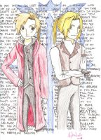 The Elric Brothers by IisLARRY