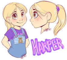 Harper - Character Concept by strawberryneko33