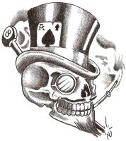 Lucky Skull by TheLob