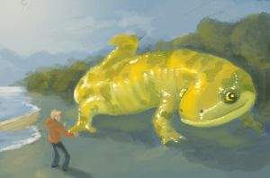 Giant Mythological Salamander