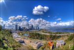 HDR Perth City by flashproduction