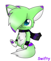 new chara Swifty by MillyTheTigerKitten