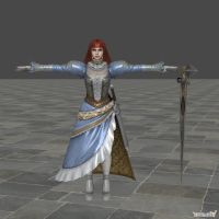 Soulcalibur IV - Hilde 'dress' by Sterrennacht