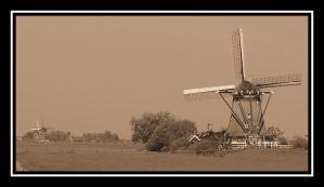 Dutch Windmills by Stevie73