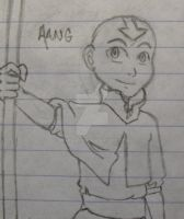 Aang by RexFangirl
