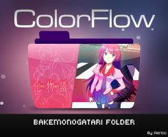 Colorflow Hitagi senjougahara by pierloc