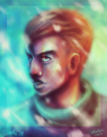 Ninjago collab - Zane by skcolb