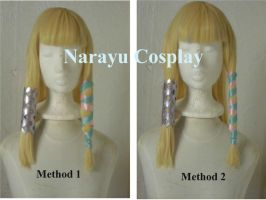 Zelda's hairstyle from Skyward Sword results by Narayu