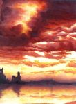Fire through the clouds by dougy