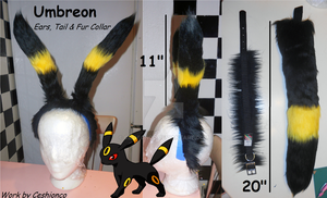 Umbreon Partial Set for sale by CeshionCo