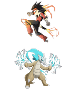 Fake Megas by AbelVera