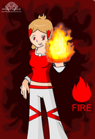 Firery girl - Lily by Kingofsouls