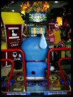 why doraemon cannot play PIU by ndreamon