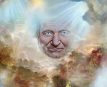 Robin Williams Heaven by AbalamAnderson