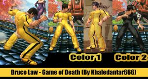 LAW - BRUCE LEE (GAME OF DEATH) by Khaledantar666