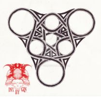 Tribal Knot Design by Inx-by-Gin