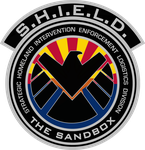 SHIELD The Sandbox Patch Decal by viperaviator