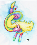 Lady Rainicorn by Dizzie-Dog