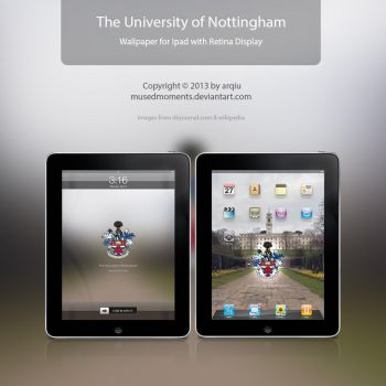 Nottingham wallpaper for iPad with retina display by musedmoments