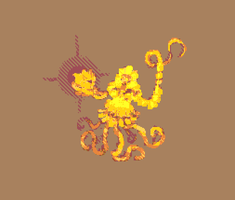Pixel octopus by Cellusious