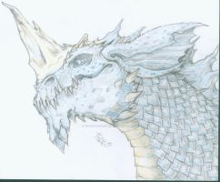 Blue Dragon by cactuarZrule
