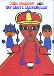 King Starboy And His Royal Bodyguards (Color Vers) by KStarboy