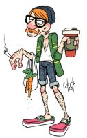 Hipster by ChuckDoodles