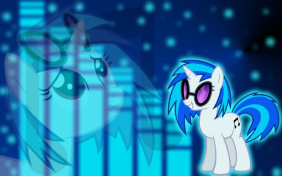 Vinyl Scratch Wallpaper 1680X1050 by YuiRainbowStar